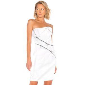 Bebe zipper detail dress